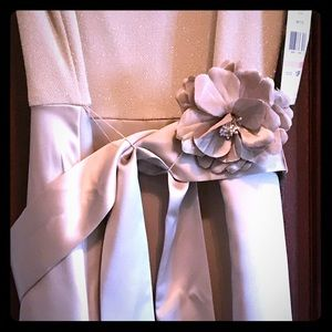 Positive attitude Taupe Dress